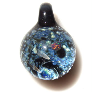 [UBMP-36] meteor black planet pendant