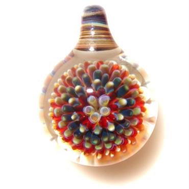 [MCPF-36]mini clear poisonous flower pendant