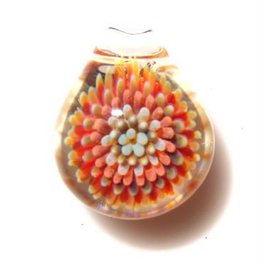 [MCPF-29]mini clear poisonous flower pendant