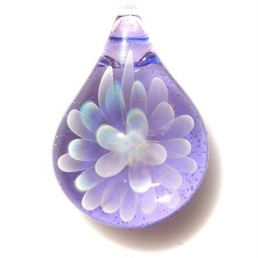 [MCN-61] mini clear flower pendant