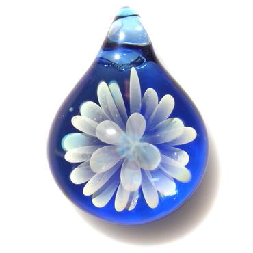 [MCN-65] mini clear flower pendant