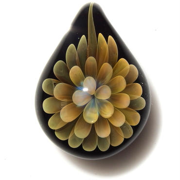 [FG-40] gradation flower pendant