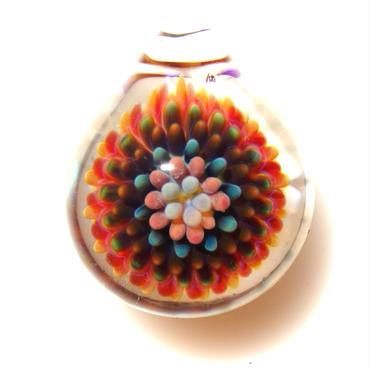 [MCPF-37]mini clear poisonous flower pendant
