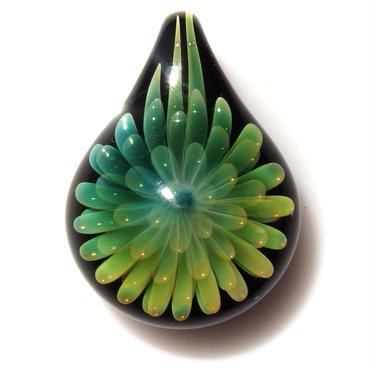 [FG-43] gradation flower pendant