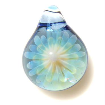 [MCYF-21]mini clear yellow flower pendant