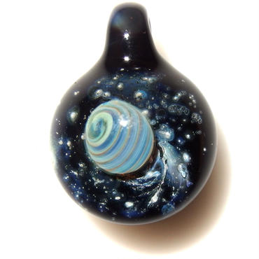 [UP-50]glasxy planet pendant
