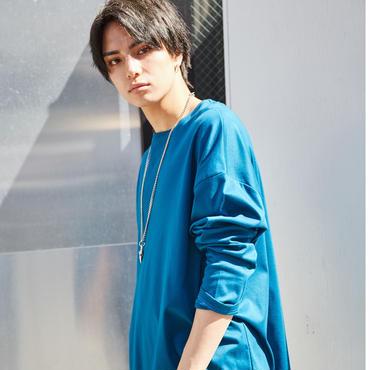 EN-FORM WIDE CUT LONG TEE【BLE】