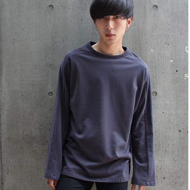 IDEAL CONFIT LONG TEE【NVY】