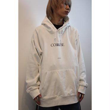 """COMMUSE"" LOGO PARKA【WHT】"