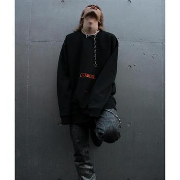 """【入荷】""""COMMUSE"""" LOGO SWEAT【BLK】"""