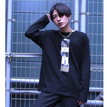 25DRM GUN CLUB LONG SLEEVE TEE 【BLK】