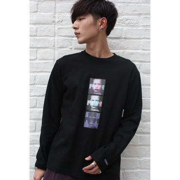 """MUSE"" GRAPHIC LONG SLEEVE TEE 【BLK】"