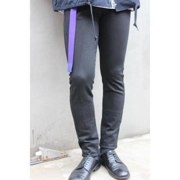 MASCULINE SKINNY PANTS【BLK】