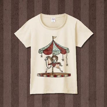 Tシャツ『パルコフェリーチェ』ナチュラル