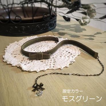 【限定カラー】涙雫のベルベットチョーカー