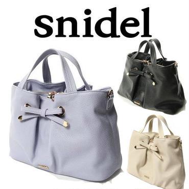 】【数量限定】SNIDEL スナイデル ショルダー/フロントリボンバック[SD-03]