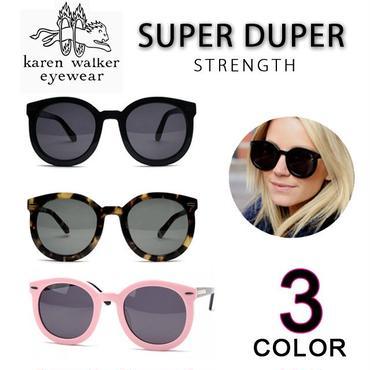 ★大人気★ Karen Walker カレンウォーカー サングラス Super Duper Strength [kw-03]