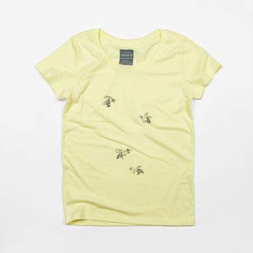 ミツバチレディースイラストTシャツ
