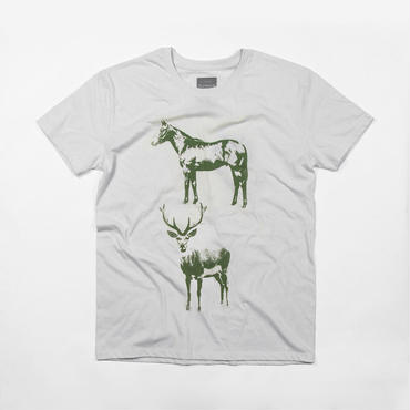 「馬鹿」おもしろデザインTシャツ