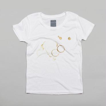 コーヒーの跡 デザインTシャツ ユニセックス