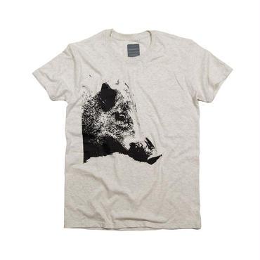 猪(イノシシ年)デザインTシャツユニセックス
