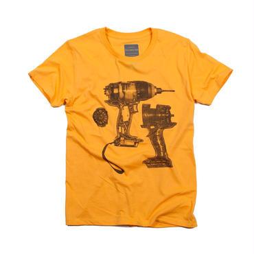 電気ドリル デザインTシャツ ユニセックス