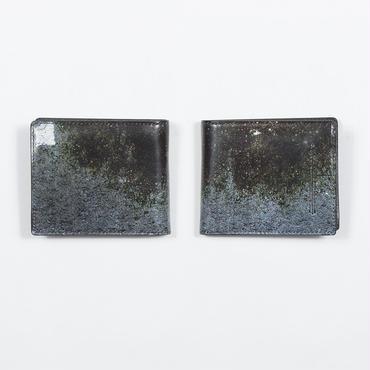コンクリート塀 二つ折り財布