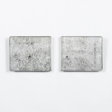 コンクリート壁 二つ折り財布