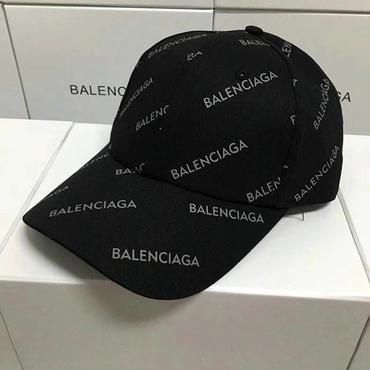 新入荷 バレンシアガ 刺繍キャップ 帽子 調節可 男女兼用