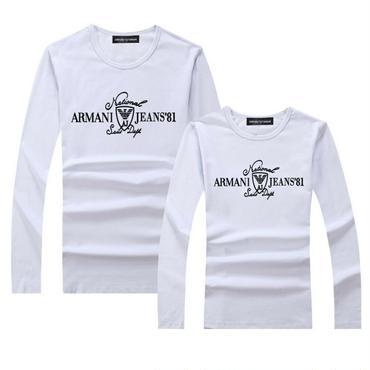 大人気 アルマーニ長袖Tシャツ  スウェット 男女兼用   43