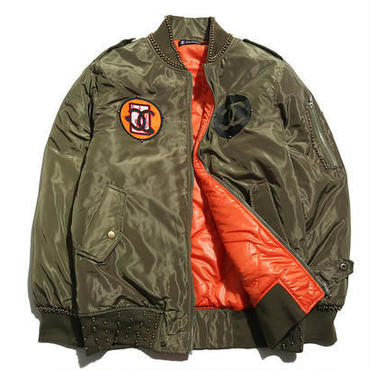高品質 シャネルCHANEL  MA-1ジャケット 男女兼用