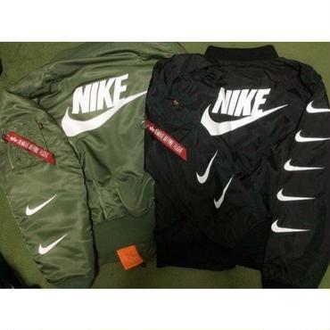 ナイキNikeMA-1ジャケット 高品質 男女兼用