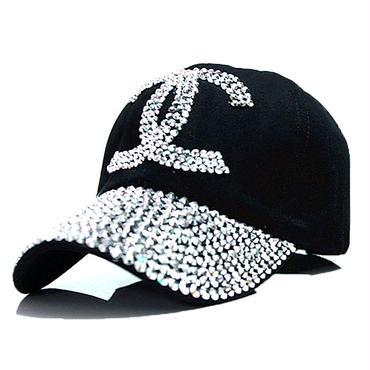 大人気 オシャレ  シャネルキャップ 帽子 調節可 男女兼用