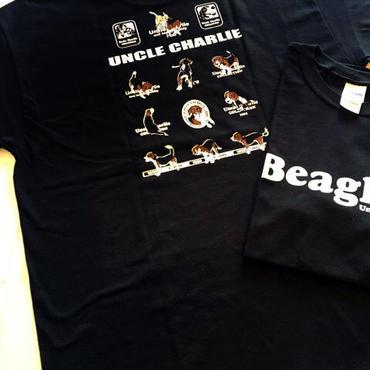 ビーグルイラストTシャツ : the Beagles  大きいサイズ(USA規格)