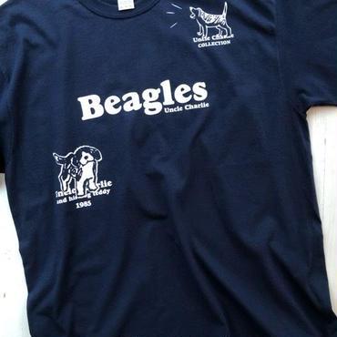 ビーグルイラストTシャツ:大きいサイズ(USA規格)