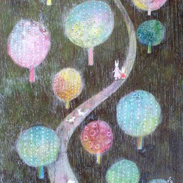 綿菓子の木