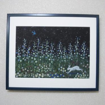 絵画「秘密の花園」