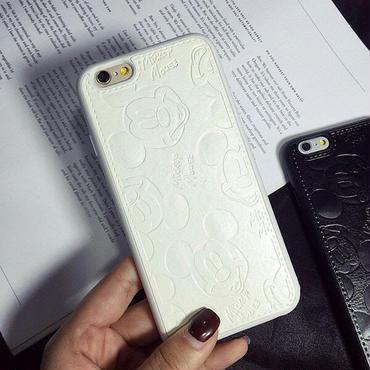 iPhone6s plusスマホケース【ミッキー】最新作 ディズニー ミッキー好き様へ 5.5インチ ホワイト
