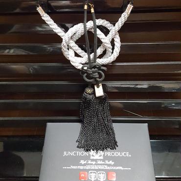 JPジャンクションプロデュース★銀綱&黒房★ラグジュアリーミラーアクセサリー