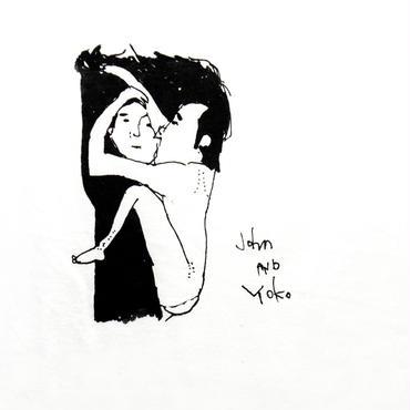 タキハナTシャツ「John & Yoko」滝花保和