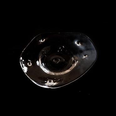 「パンクス, 皿」gla_gla , 2015 , ガラス