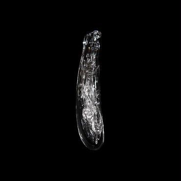 「みつめあう。」#230T080, gla_gla, 2016, ガラス製花器(吊り)