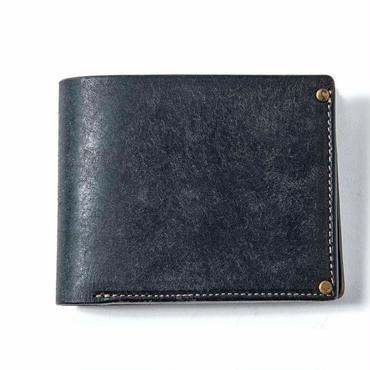 Vintage Works × The Wonder Lust    Two-Fold Wallet  navy