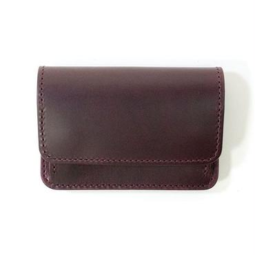COIN & CARD CASE (PURPLE)