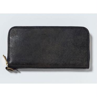 ZIP LONG WALLET (NAVY)