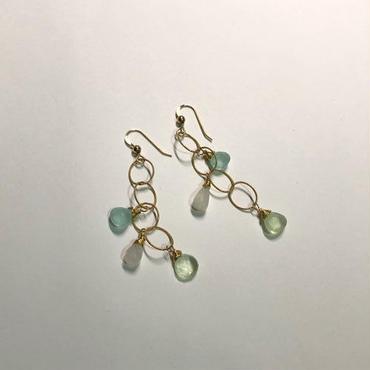 mauimarioceanjewelry E chain short trple (m490)