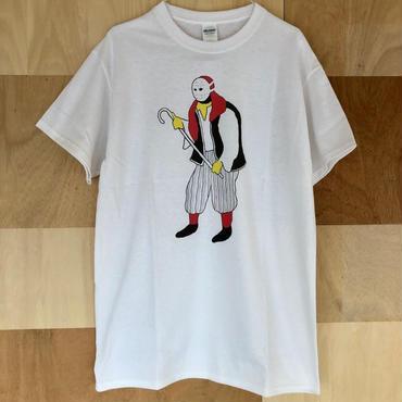 """[五木田智央]""""海賊男"""" tee-shirt(white)"""