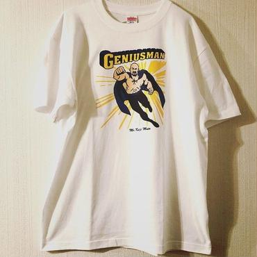 "武藤敬司""GENIUSMAN""tee-shirt (white)"