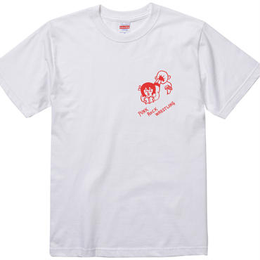 "大橋裕之""PUNK""tee-shirt (white)"