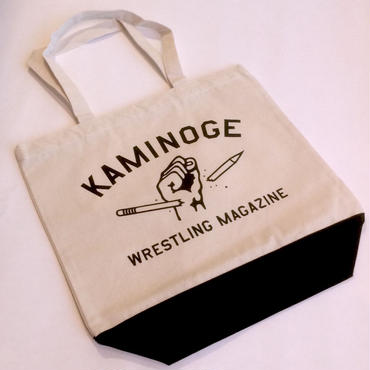 """KAMINOGE WRESTLING MAGAZINE"" トートバッグ(sizeM)"